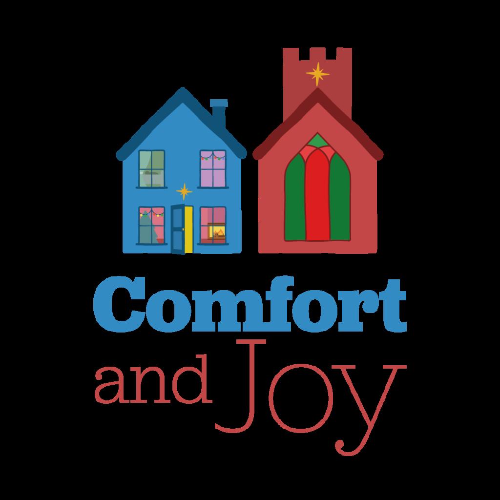 Comfort and Joy Christmas Logo